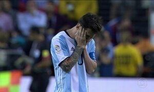 Lionel Messi adeus de à seleção argentina