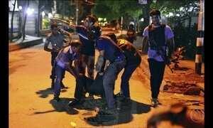 Terroristas mantêm estrangeiros reféns em restaurante em Dhaka, capital de Bangladesh