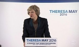 Theresa May será a segunda mulher a história a governar o Reino Unido