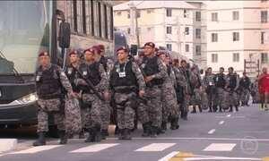 Militares reclamam das condições do alojamento no Rio de Janeiro