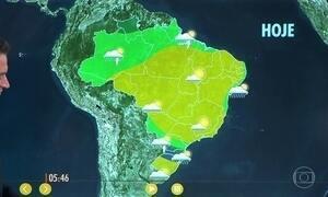 Confira como fica o tempo nesta sexta-feira (15)