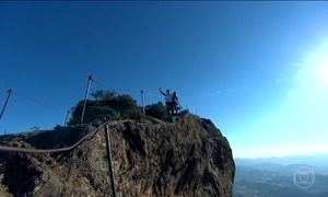 Serra da Mantiqueira (SP) une aventura com passeio romântico