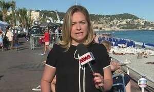 Após atentado Nice tem baixa movimentação turística