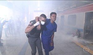 Forças de Segurança fazem simulação de ataque terrorista em Salvador