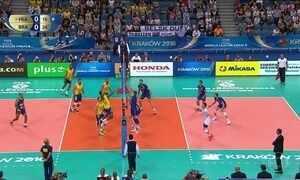 Brasil vence a Franca e está na final da Liga Mundial de Vôlei