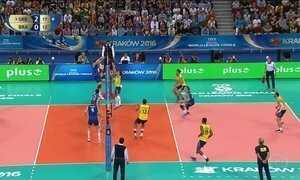 Brasil para Sérvia na final da Liga Mundial de Vôlei