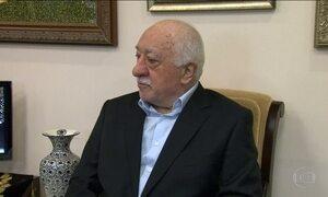 Erdogan acusa líder religioso Fetulá Gulen de ser mentor de tentativa de golpe