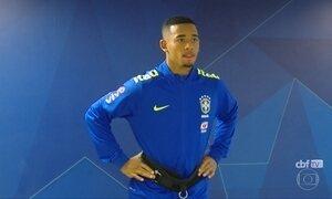 Seleção Brasileira se apresenta em Teresópolis, no Rio de Janeiro