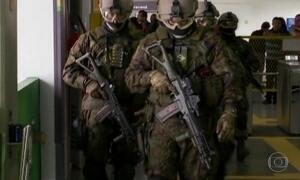 Segurança da Olimpíada tem simulado de atentado no metrô