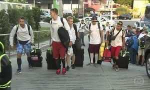 Atletas estrangeiros chegam antes ao Brasil para se adaptar ao clima