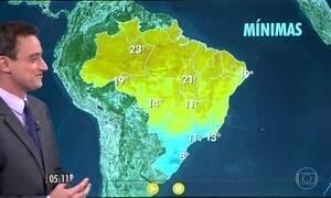 Confira como fica o tempo nesta quinta-feira (21)