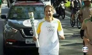 Tocha Olímpica já percorreu mais de 23 mil km pelo país