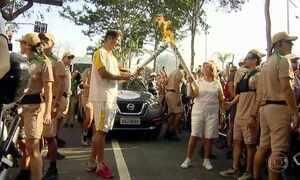 Revezamento da tocha olímpica chega à Região Metropolitana de SP