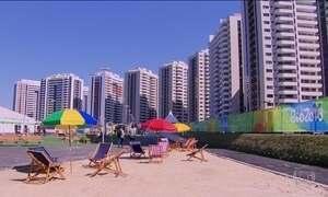 Vila Olímpica é inaugurada e já apresenta problemas