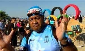 Rio entra no clima da Olimpíada
