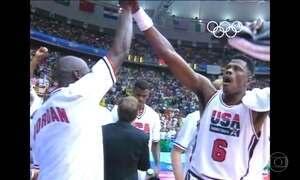 Olimpíada de 1992 teve time dos sonhos do basquete americano