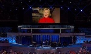 Partido Democrata confirma candidatura de Hillary Clinton e faz história