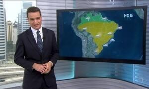 Confira a previão do tempo para o fim de semana em todo o Brasil