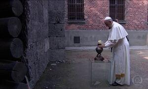 Papa visita locais do holocausto