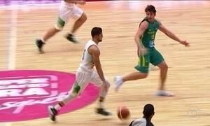 Seleção masculina de basquete vence 3º amistoso antes da Olimpíada