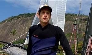 Velejador supera câncer e conquista vaga na Olimpíada do Rio
