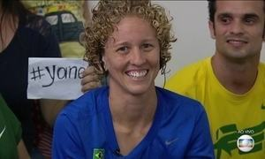 Yane Marques, do Pentatlo, vai conduzir a bandeira do Brasil na abertura da Olimpíada
