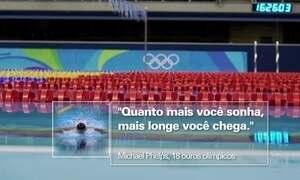 Em 120 anos, os Jogos Olímpicos criaram campeões lendários
