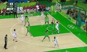 Seleção feminina de basquete perde segundo jogo para o Japão