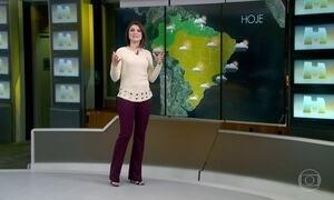 Previsão é de tempo firme no Rio de Janeiro