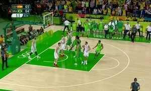 Basquete masculino brasileiro enfrenta a Croácia nesta quinta-feira (11)