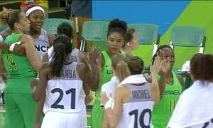 Seleção feminina de basquete perde pela 4ª partida seguida na Olimpíada