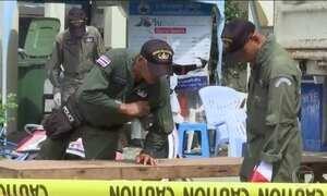 Tailândia sofre onda de ataques a bomba