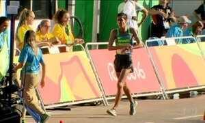 Brasil quase conquista medalha de bronze na marcha atlética