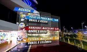 Veja a programação olímpica do Brasil deste sábado (13)