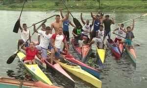 Esperança de medalha na canoagem do Brasil faz da rotina glória no esporte