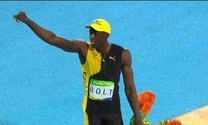 Usain Bolt brilha em mais uma competição do atletismo