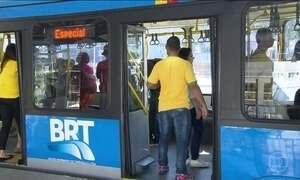 Torcedores avaliam sistema de transporte montado para a Olimpíada