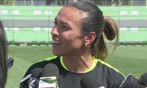 Marta é confirmada na semifinal contra a Suécia do futebol feminino