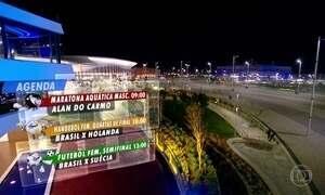 Veja os destaques brasileiros da programação olímpica de terça-feira (16)