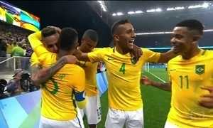 Brasil encara Honduras na quarta (17) por vaga na final do futebol masculino