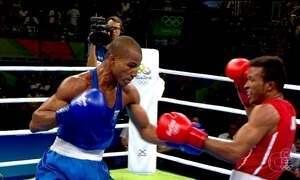 Robson Conceição encara francês Sofiane Oumiha pelo ouro no boxe