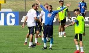 Brasil joga contra Honduras na semifinal do futebol masculino
