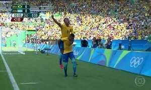 Brasil vai disputar medalha de ouro contra a Alemanha no futebol masculino