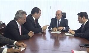 José Serra se reúne com oposicionistas da Venezuela e reitera posição brasileira