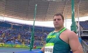 Darlan Romani se classifica para final do arremesso de peso