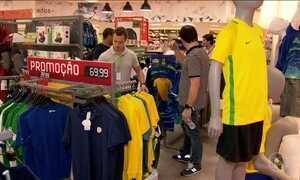 Venda de produtos que fazem referência ao Brasil cresce 300%