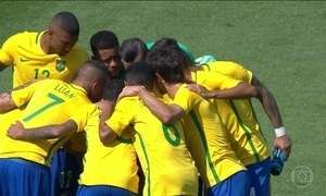 Brasil enfrenta a Alemanha na luta pelo ouro no futebol masculino