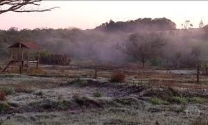 Frio que atingiu o sul do Brasil chega a Mato Grosso do Sul