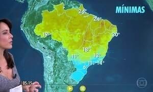 Confira como fica o tempo nesta quarta-feira (24)