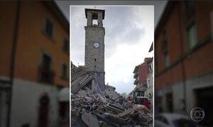 Veja como ficou região atingida por terremoto